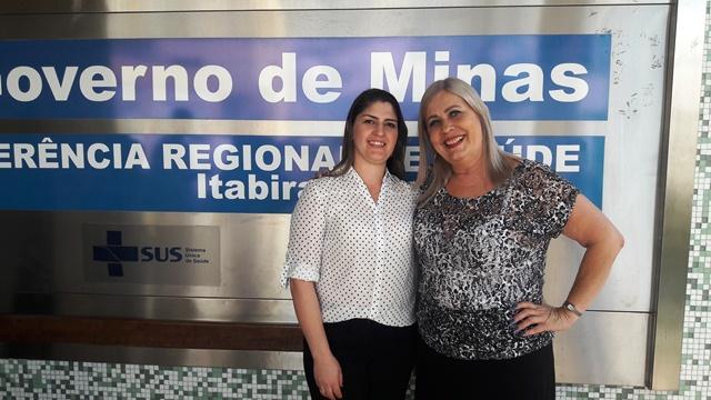 Nádia Dutra e Rosilaine Madureira, referências técnicas em Segurança do Paciente   Acervo Pessoal